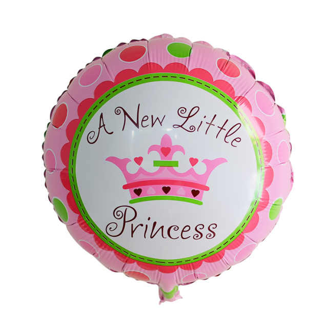 1pc Angel Baby Prinses Prins Folie Ballonnen Pasgeboren Kids Jongens Meisjes Verjaardag Baby Shower Party Decoraties Globos Speelgoed Ballons