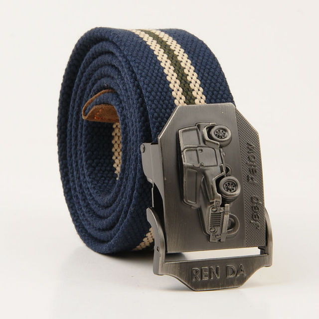 ed86824ac Canvas Belt For Men Gay Striped Buckle Leather Belt Designer Belts Cheap  Wholesale Factory
