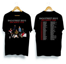 Backstreet Boys Tour 2019 T-Shirt Size S-3XL  Men T Shirt Great Quality Funny Man Cotton