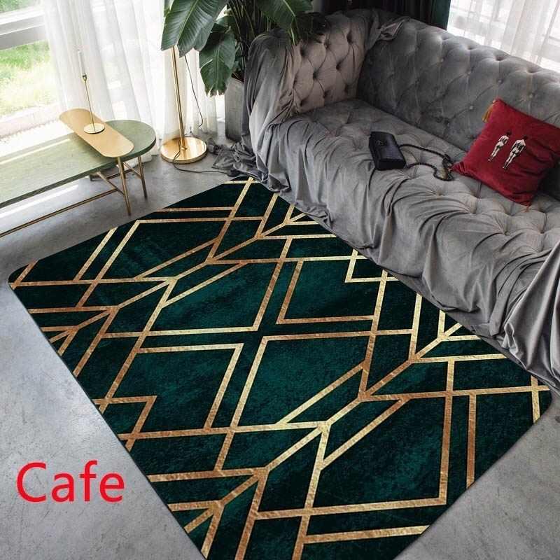 Moda Modern Alan Kilim Geometrik Desen Halı İskandinav Basit oturma odası kahve sehpası Odası Yatak Odası kilim Mat