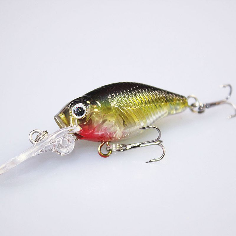 Image 3 - 6PCS High Quality Fishing Tackle Crank Bait Wobblers Iscas Artificiais leurre peche Jerkbait Fishing Crankbaits Lure 72mm 4.2g-in Fishing Lures from Sports & Entertainment
