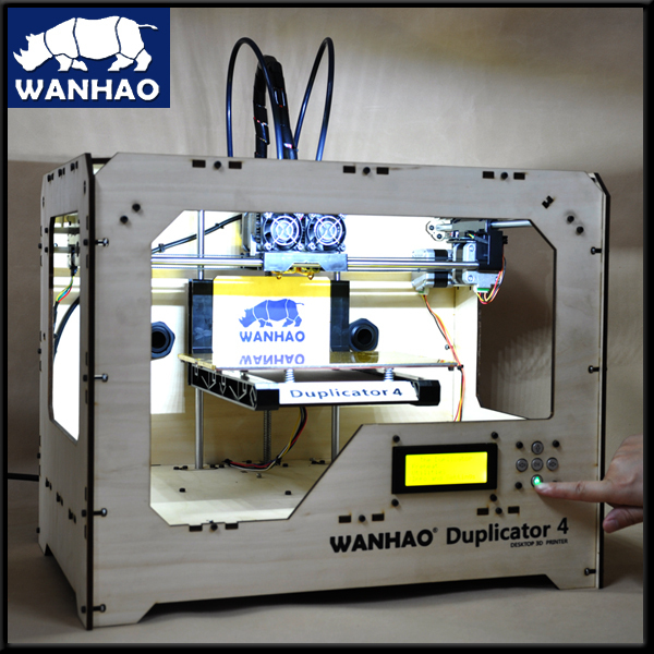3d printer duplicator 4 new version dual extruder ABS PLA