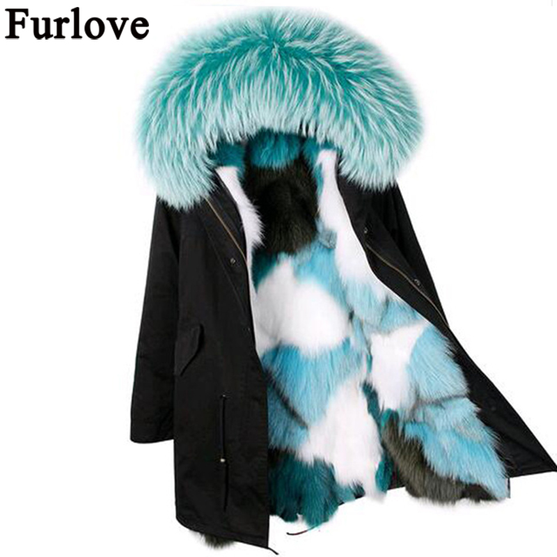 2017 winter jacket coat women parka big real raccoon fur collar hooded natural silver fox fur coat amazing quality top brand faux rabbit fur brown mr short jacket sleeveless with big raccoon collar fall coat