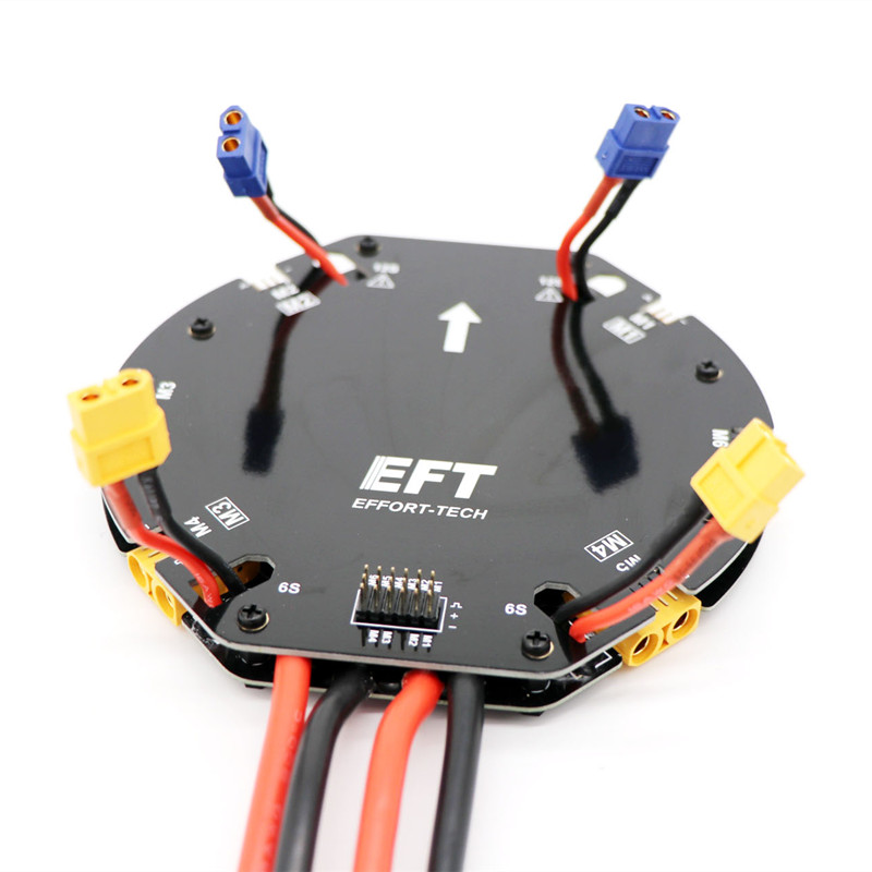 High current power allocation management module V3 distributor board 12S 480A electric board Line version for agricultural drone tarot high current distribution board power management module 12s 480a power supply board for agricultural drone quad hexacopter