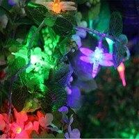 LED Lighting Strings 3m Dragonfly Lights Supernova Sale Garland Chandelier For Christmas New Year Fairy Wedding