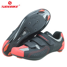Sidebike Road Cycling Shoes Mountain Bike Shoes Men Breathable Mtb Bicycle Shoes Self-Locking Sneaker Chaussure Velo Route sidebike men mountain bike shoes cycling road bicycle mtb shoes breathable wear resistant self locking cycling sneakers white