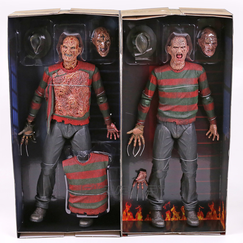 NECA A Nightmare on Elm Street 2 Freddy's Revenge / 3 Dream Warrior Freddy Krueger PVC Action Figure Collectible Model Toy 50cm neca a nightmare on elm street 3 dream warriors pvc action figure collectible model toy 7 18cm kt3424