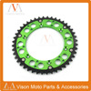 44T 46T 47T 48T 49T 50T 51T 52T Motorcycle Rear Sprocket For KAWASAKI KX500 RMZ250 KX125