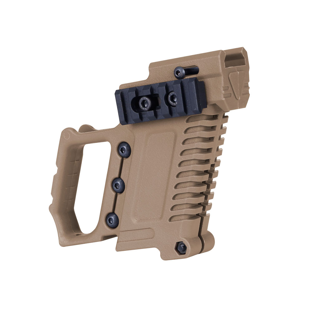 Airsoft Air Guns Glock Water Cannon For CS G17 18 19 Tactical Pistol Carbine Kit Mount