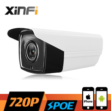 XINFI HD 1.0 MP CCTV POE camera night vision Outdoor Waterproof network CCTV 720P IP camera P2P ONVIF 2.0 PC&Phone remote view