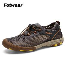 Fotwear Men sandals Casual shoes men Outdoor shoes for traveling Hiking Swimming climbing fishing Beach playing Lightweight