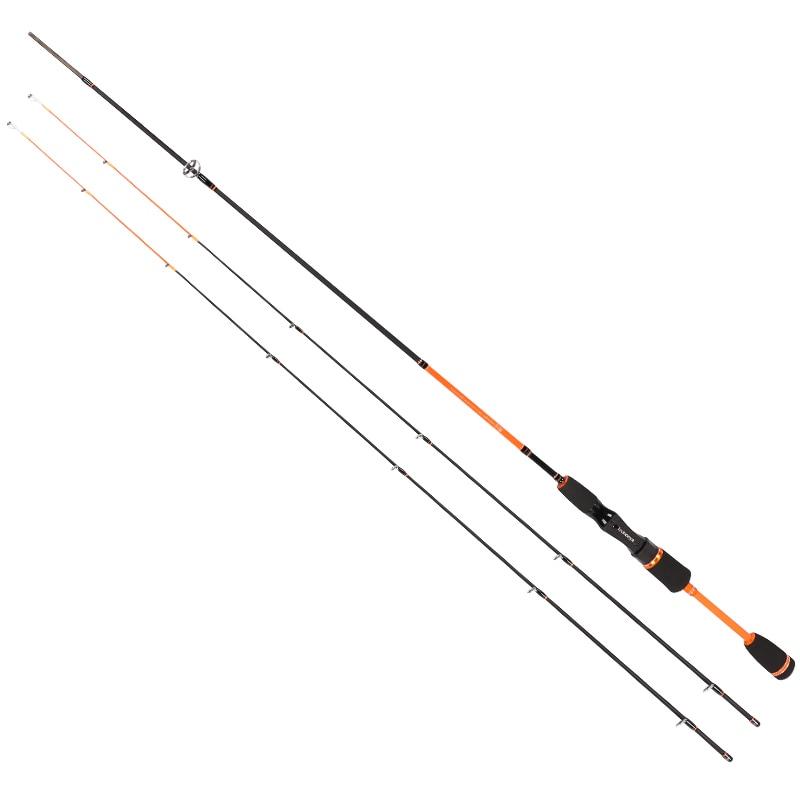 Tsurinoya Spinning Fishing Rod Trout Fishing 1.8M L/UL 2 tips Trout Fishing Carbon Rod 2 sections S602 Joy Together цены онлайн