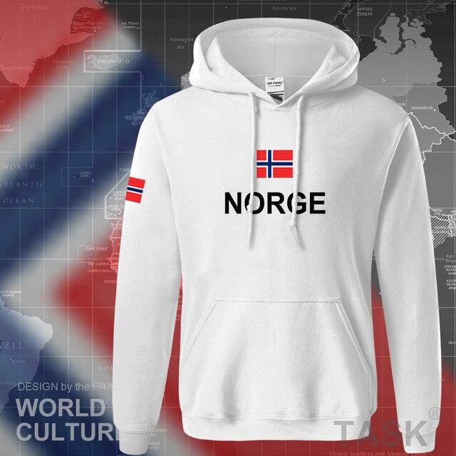 Norway hoodies men sweatshirt sweat new hip hop streetwear footballes jerseyes tracksuit nation Norwegian flag NO Norge Noreg 4