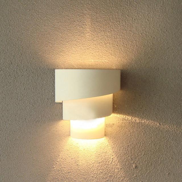 Moderne chambre couloir 5 w Led Blanc/Noir/Rouge mur lampe ...