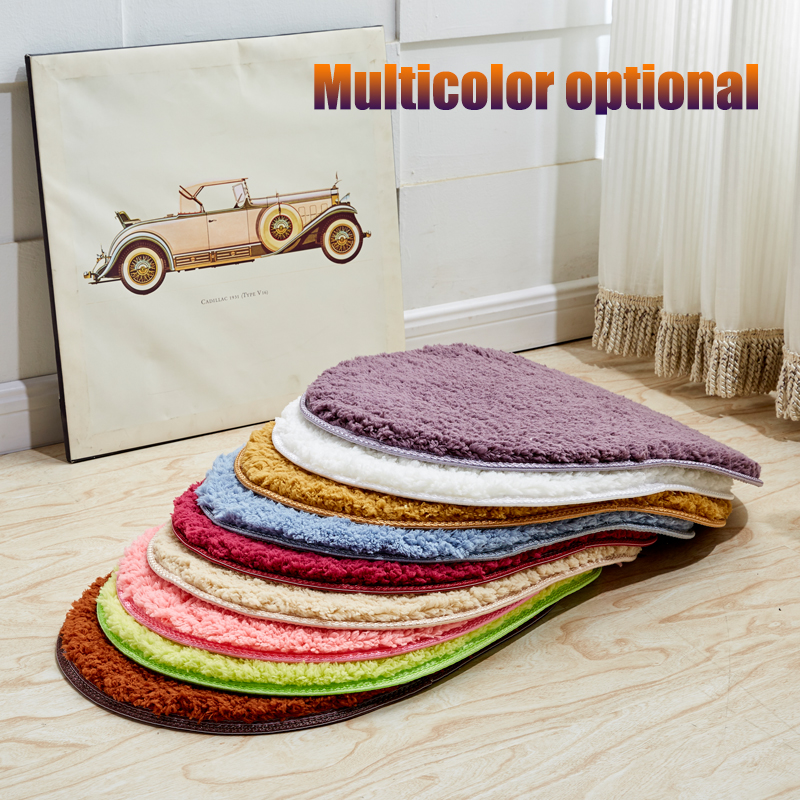 Plush Carpet Absorbent Soft Memory Foam Door Mats Outdoor
