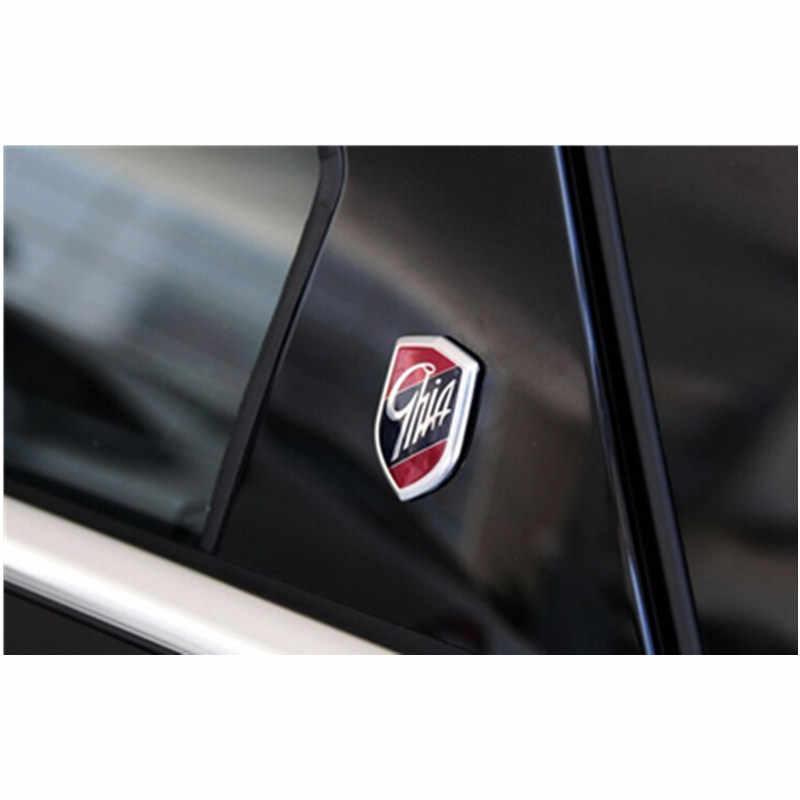 Etiqueta do carro emblemas ghia escudo lateral logotipo marcado adesivos para ford focus mondeo fiesta ecosport kuga borda explorador expedição