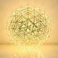 60 cm 70 cm en 80 cm Creatieve Raimond Led Vuurwerk Ball Hanglamp Voor Woonkamer Rvs Abajur restaurant loft licht