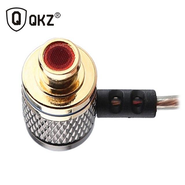 Earphone QKZ DM6 Earphones Professional in-ear Headset Metal Heavy Bass Sound Quality mp3 DJ Music audifonos fone de ouvido