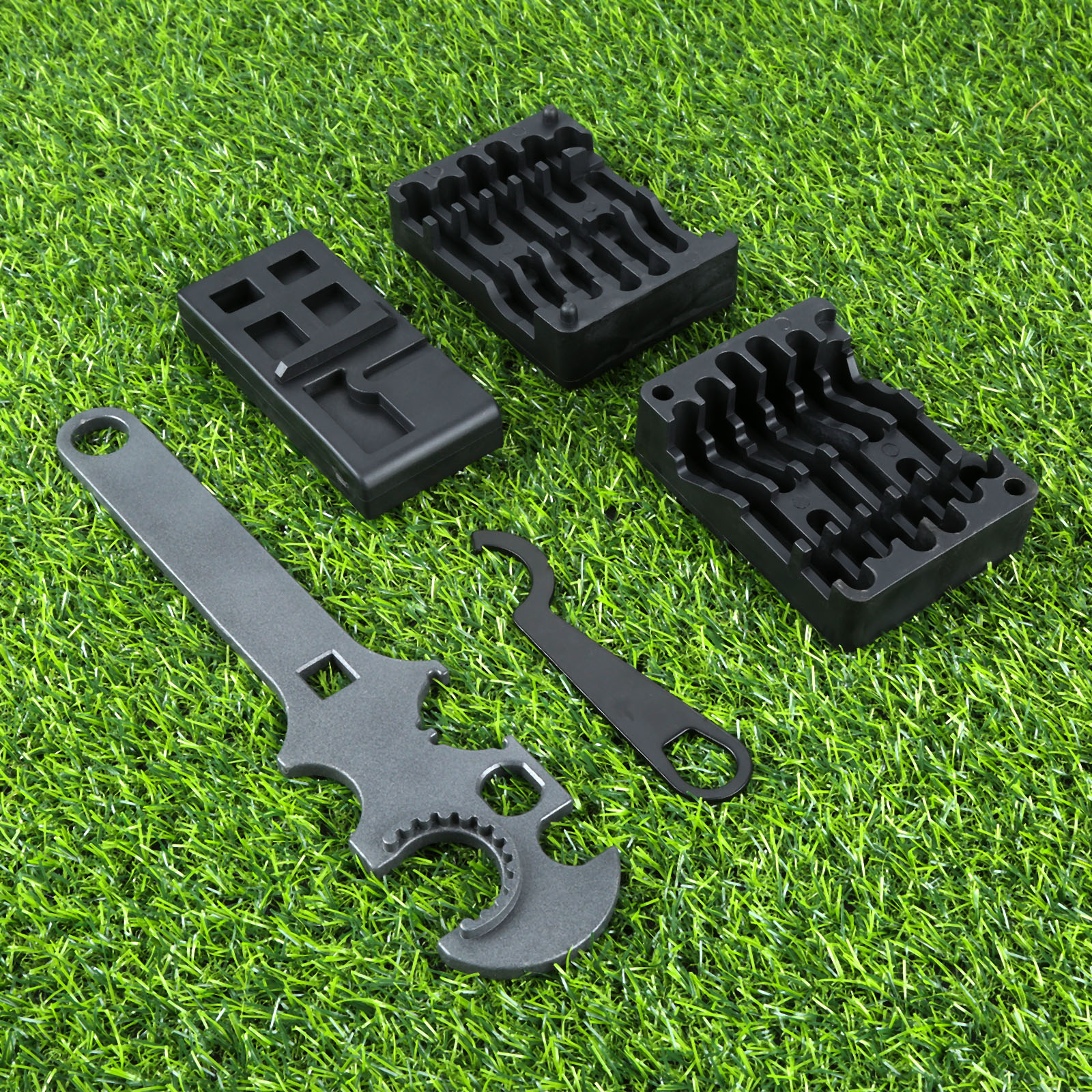 Tactical Professional 4pcs/Set Lower& Upper Vise Block & Wrench Tool AR15 Strong Portable Outdoor Tools Hunting Gun Accessories