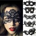 Natal Máscara de Halloween Escavar Rendas Véu Máscara Máscara Gosto Sexy Bar Noite Loja Europeia Têm