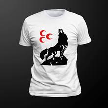 2018 heißer Verkauf T-Shirt Bozkurt/ Turkei Dna Türkei Es der In Meinem Dna Bozkurt Mhp/Schwarze Motiv Sommer stil T-shirt Streetwear