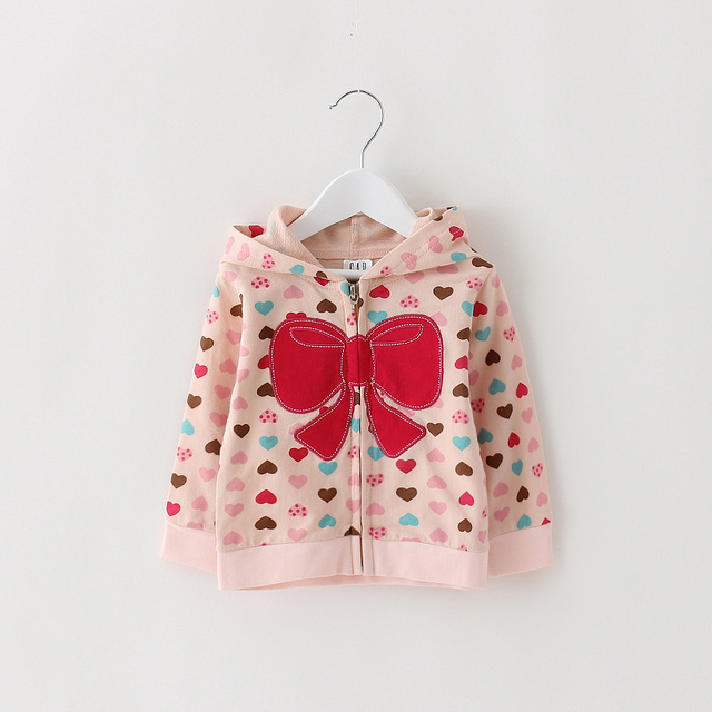 Girl Spring Coat Jacket Children Cotton Clothing Autumn Outwear Girls hoodies Sweatershirt Clothing For Girls