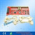 PABX sistema de grabación de la tarjeta PCI de 8 líneas registrador de voz