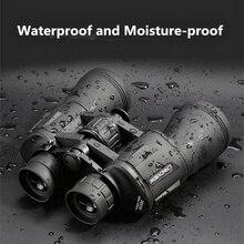 20X50 mocna lornetka azot wodoodporny teleskop ll noktowizor wojskowy profesjonalny duży okular rosyjski lornetka