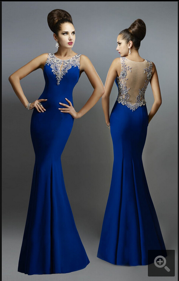 Aliexpress.com : Buy 2015 stunning stylish evening dresses royal ...