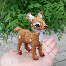 stuffed animal lovely deer plush toy simulation deer doll birthday gift