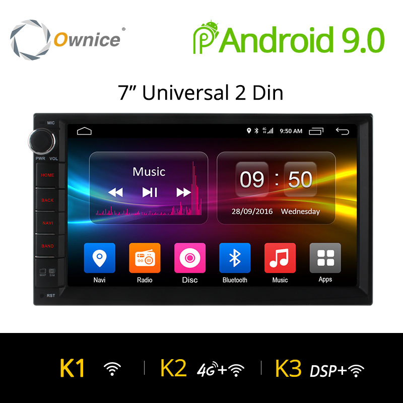 Ownice K1 K2 K2 Android 9.0 Octa Core 2 din Universal For Nissan GPS Navi Radio Stereo Audio Player(No DVD) Build-in 4G Moudule
