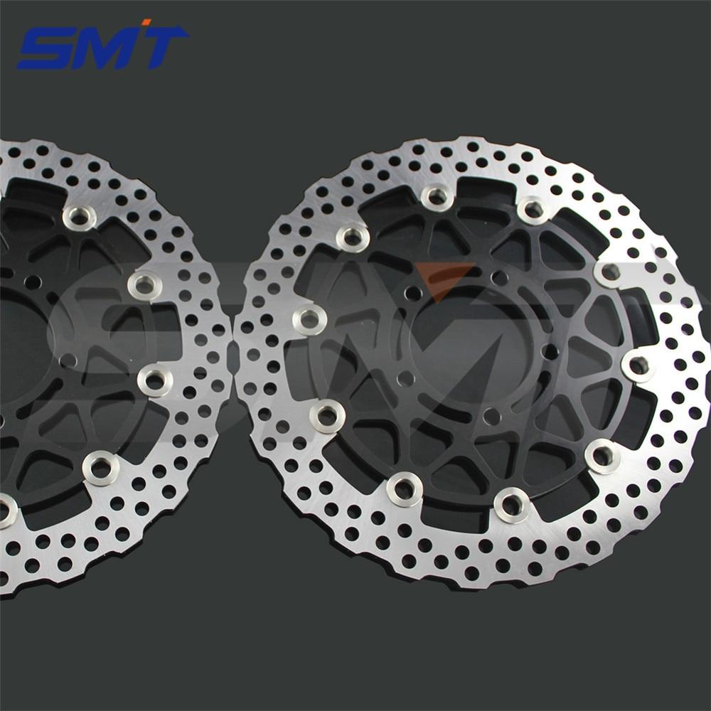 мотоцикл переднего тормозного диска ротора для СЗР Кавасаки 1400 АБС B6F-B7F,D8F-D9F,ДАФ,ДБФ ZX1400B/д 2006 2007 2008 2009 2010 2011