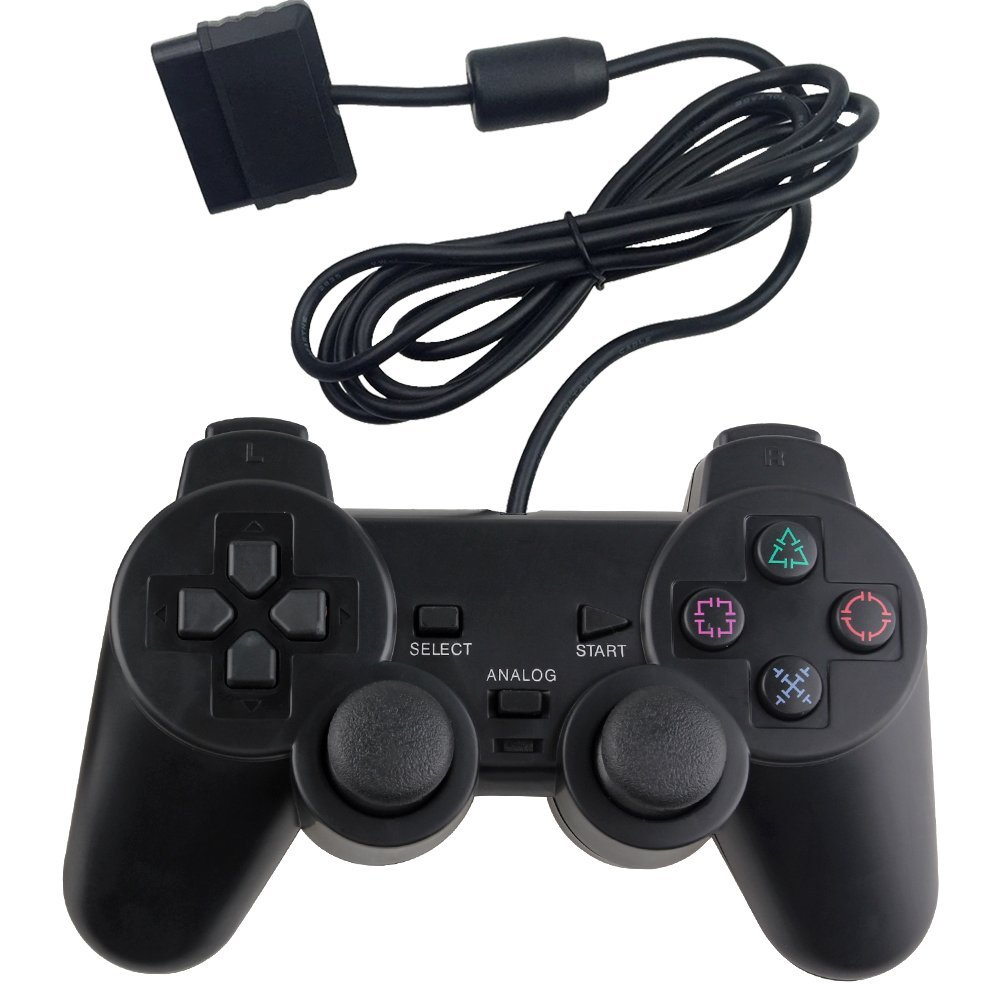 Wired Game Controller für Sony PS2 P 2 Joypad Pad wired gamepad Shock lange kabel joystick NYGACN NJP205
