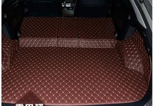 Image 2 - 새로운 lexus rx450h 2016 용 고품질 매트 특수 자동차 트렁크 매트 rx 450h 2017 용 내구성 방수 카펫 라이너