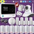 Golden Security G90B Plus + 3G GSM WIFI GPRS приложение управления беспроводной домашней безопасности умный дом сигнализация система пожарная сигнализация П...