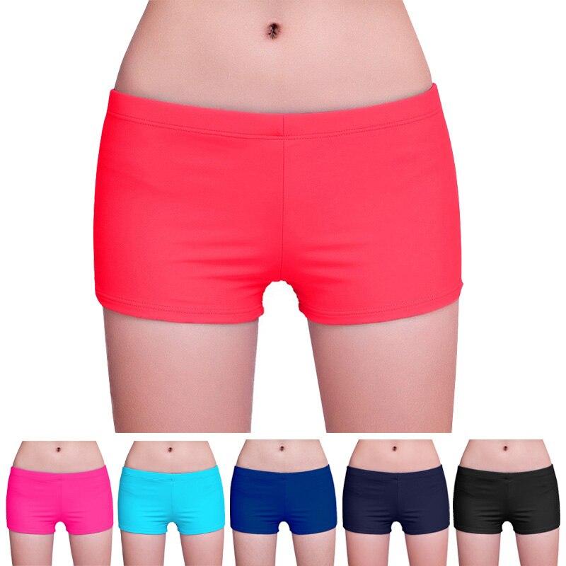 Women Shorts Bikini Swimwear Bottom Summer Beach Wear Workout Running NFE99