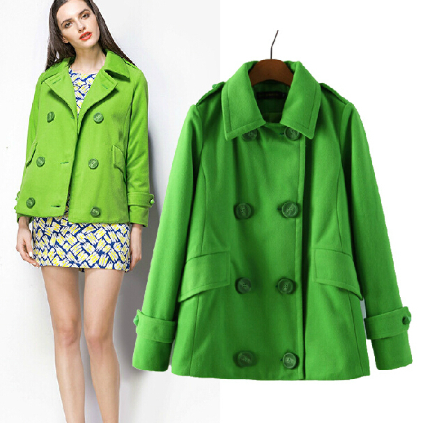 Popular Short Peacoat Women-Buy Cheap Short Peacoat Women lots
