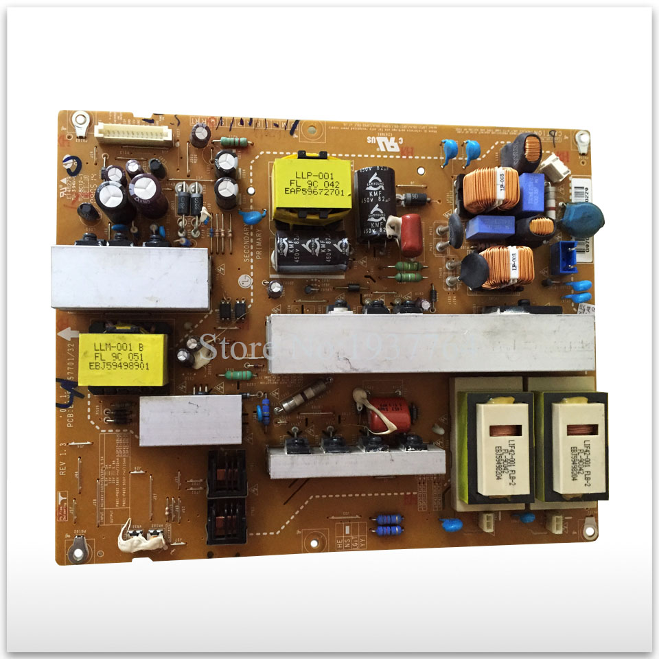 Original LG42LH20RC-TA 42LH30FR-CA power supply board EAX55357701 LGP42-09LF цена и фото