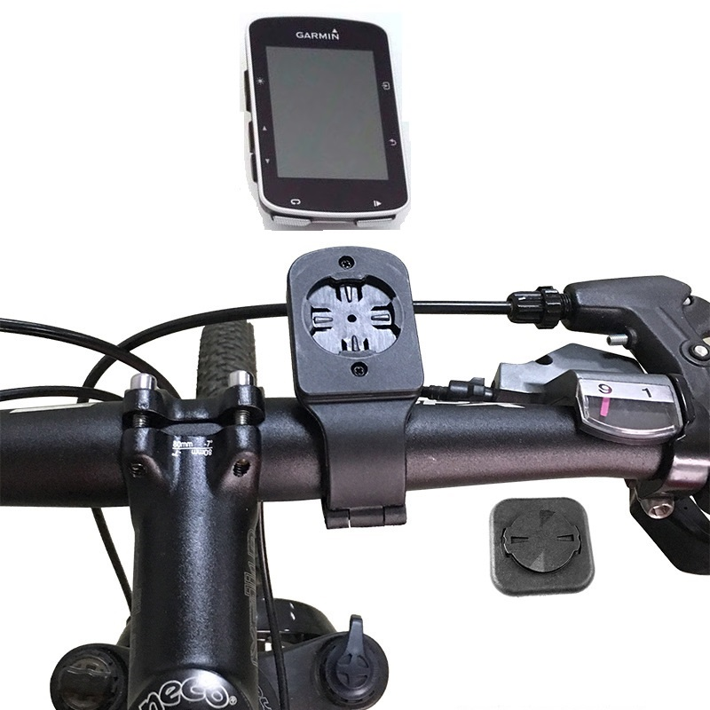 Bike Handlebar Stem Computer Mount Holder w// Phone Adapter For Garmin Edge GPS