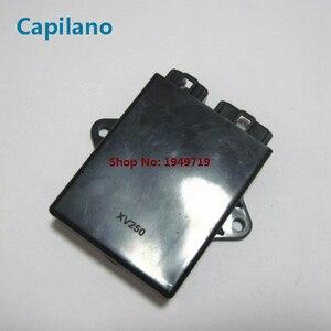 Image 3 - Moto XV250 Virago QJ250H V twin digitale di accensione CDI box unità per Yamaha 250cc XV 250 elettrica pezzi di ricambio