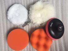 "Fixmee 5pc/Lot 4""High Gross Polishing Polisher Buffer Pad Drill Adapter For Car polisher"
