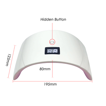 Clou Beaute 36W LED/UV 30s 60s Timer Nail Lamp Infrared Sensing US/EU/UK Plug Gel Nail Polish Dryer Manicure Lamp UV LED Dryer 2