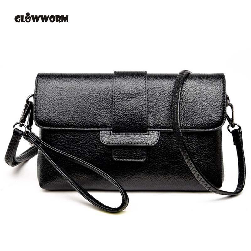 Fashion Women Messenger Bags Pachwork Envelope Casual Shoulder Bag High Quality PU Soft Zipper Solid New Fashion CX477