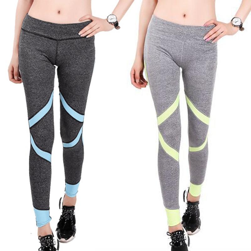 2015 Gym Sports Pants Women Leggings For Sliming Training -8387