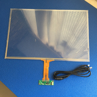 15.6 inch Multi Capacitive Touch Screen USB Touch Screen Overlay Panel Kit 10 Points Touch