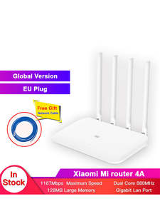 Xiaomi Router Gigabit-Edition Wifi DDR3 5ghz 4-Antenna Global-Version 128MB 4A App-Control-Ipv6