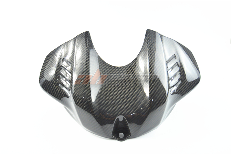 Fuel Gas Tank Cover For Yamaha YZF R6 2017  Full Carbon Fiber 100% Twill carbon fiber fuel gas tank cover protector for yamaha yzf r1 2004 2005 2006