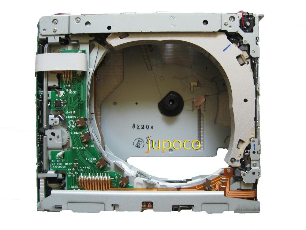 Новый и оригинальный CH-05-621 CH-05-621Z CH-05-631 6cd механизм для Toyota 321941-3170A910 автомобиля видео системы