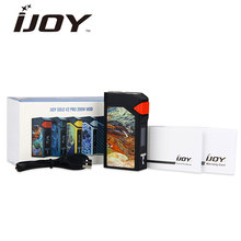 Original 200W IJOY Solo V2 PRO MOD Ni/Ti/SS Temperature Control for Spring Loaded 510 Connector C-eig Mod N0 18650 Battery