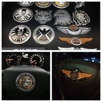 A P Metal SHIELD S H I E L D Vintage Totem Badge Emblem Logo Car